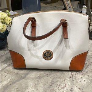 Rooney Bourne white purse